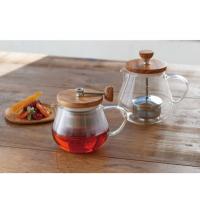 "Hario Pull-up Tea Maker ""Teaor Wood"" 700 ml"