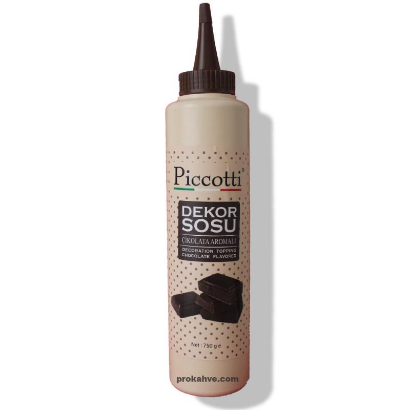 Piccotti Dekor Sos Çikolata 750 Gr