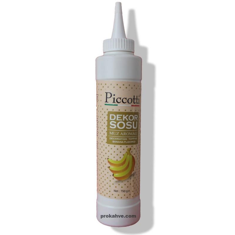 Piccotti Dekor Sos Muz 750 Gr