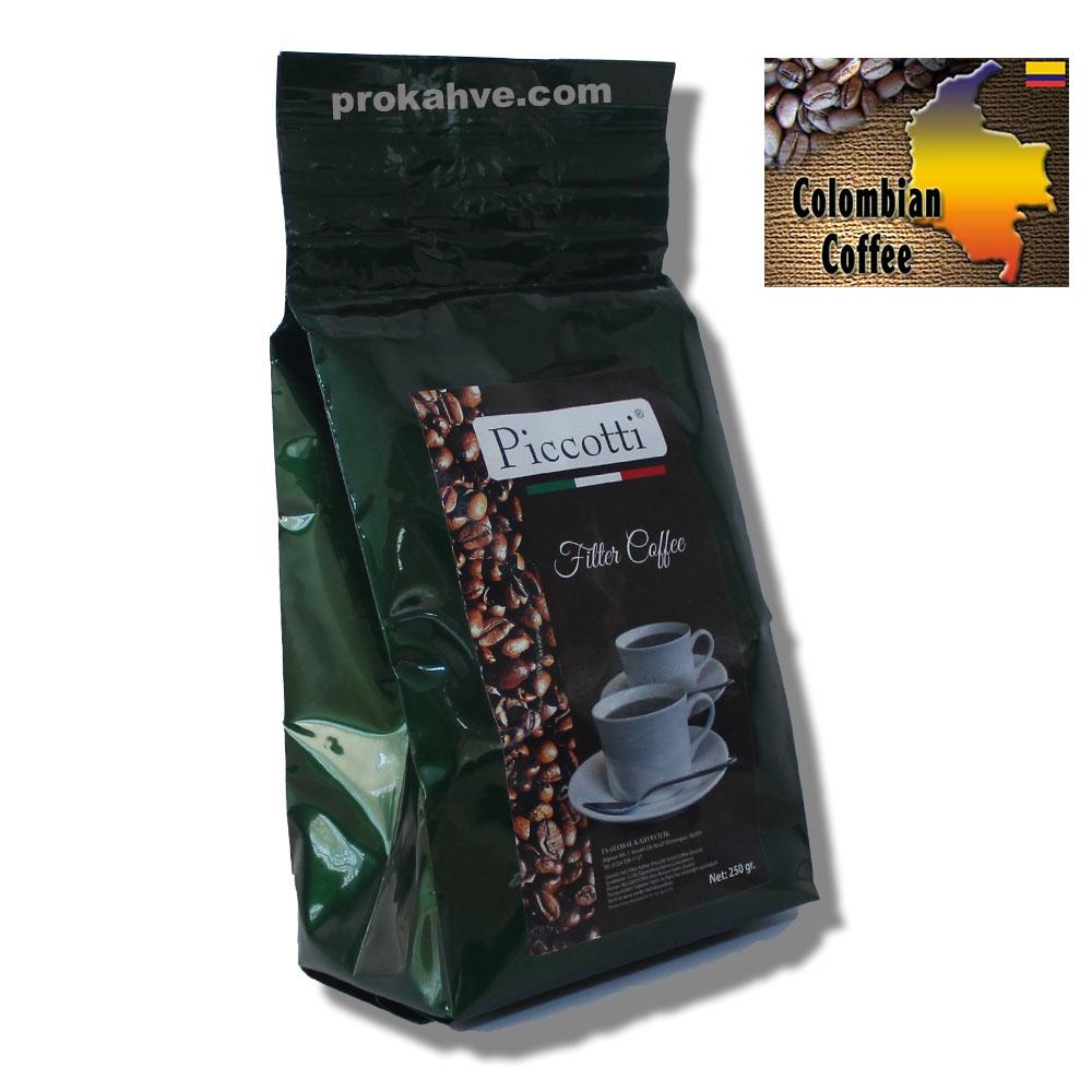Piccotti Filtre Kahve Kolombiya 250 Gr