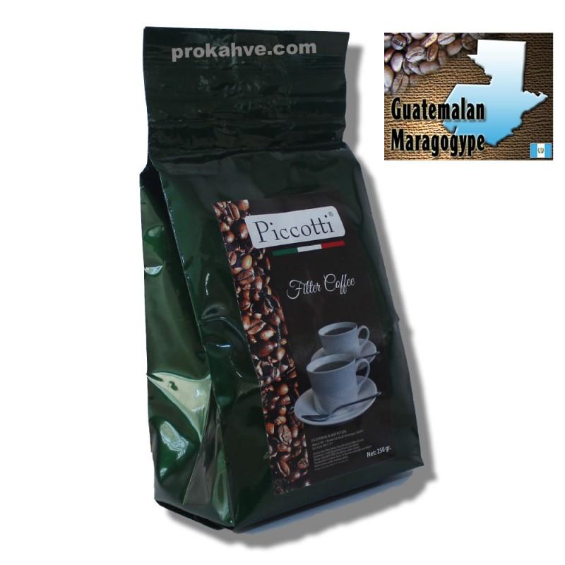 Piccotti Filtre Kahve Guatemala 250 Gr