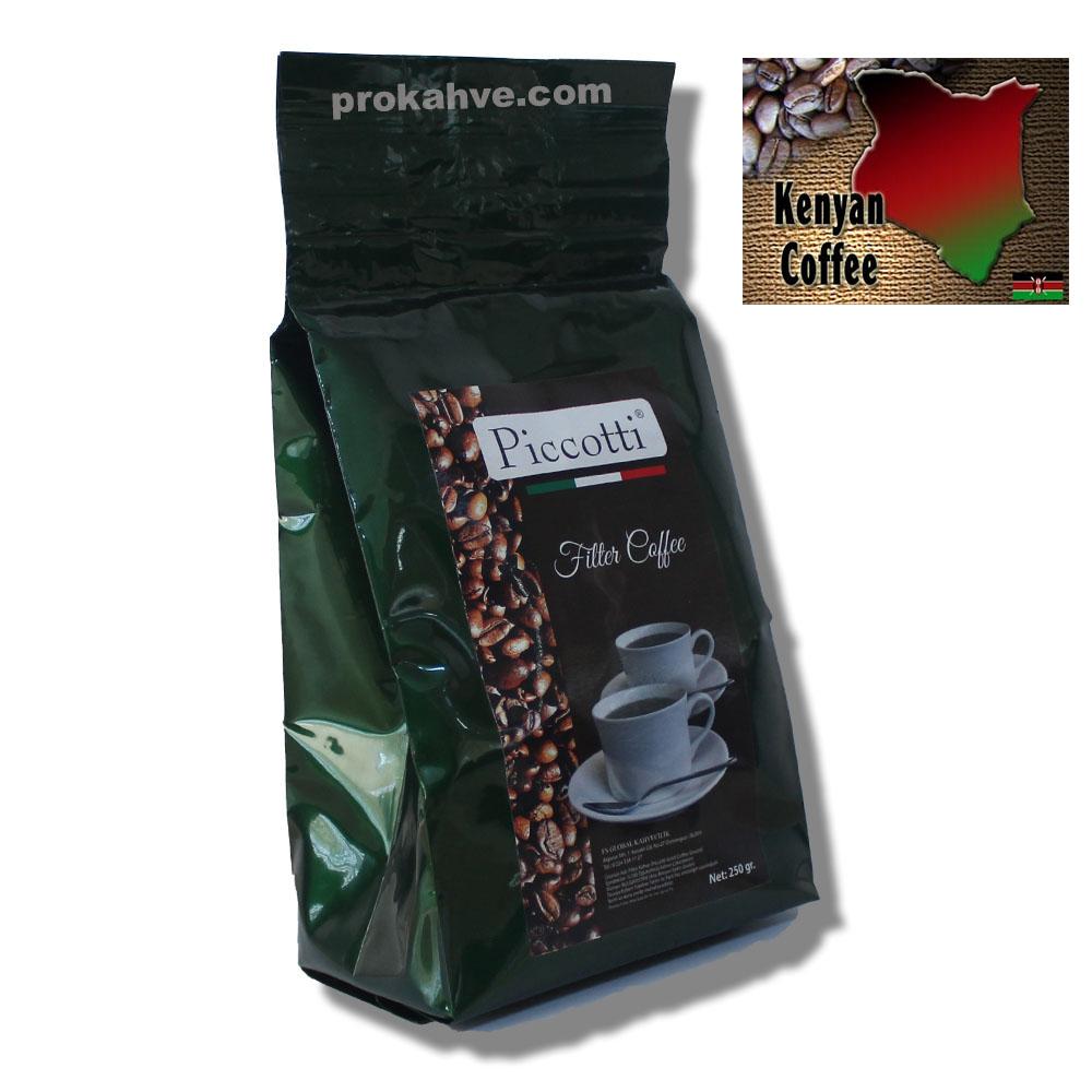 Piccotti Filtre Kahve Kenya 250 Gr
