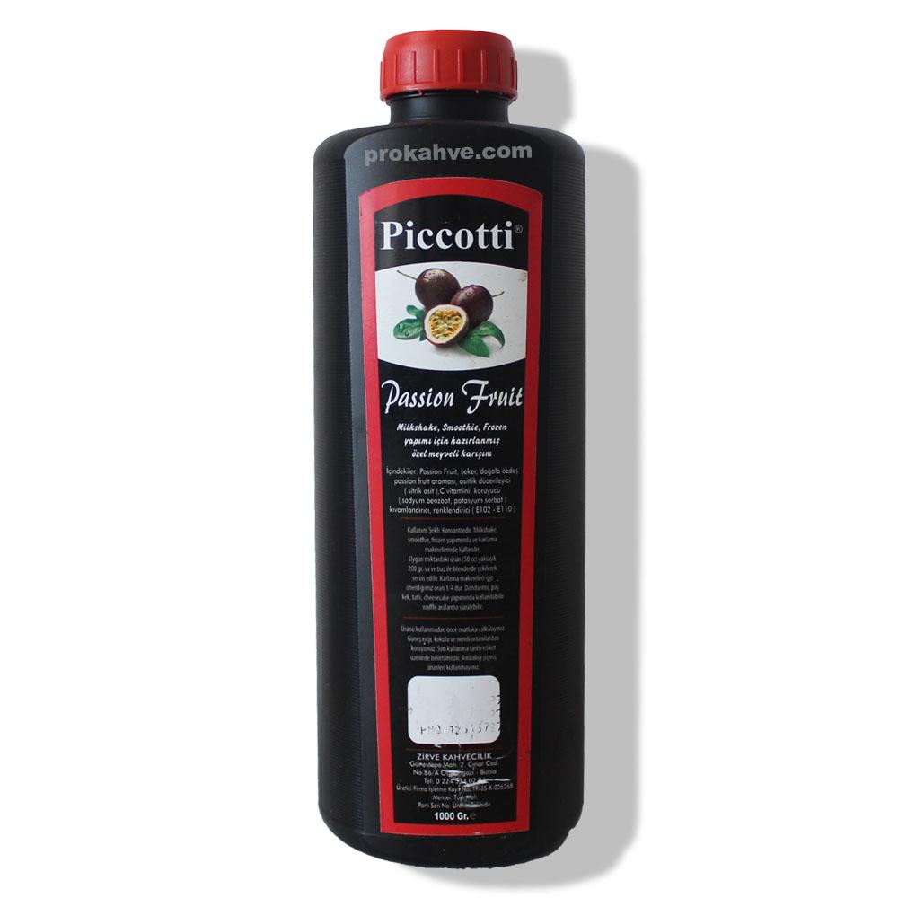 Piccotti Meyve Püresi Çarkıfelek 1000 Gr