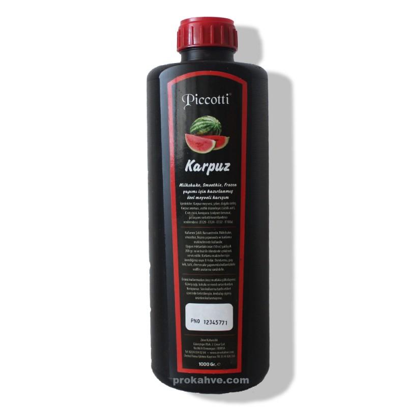 Piccotti Meyve Püresi Karpuz 1000 Gr