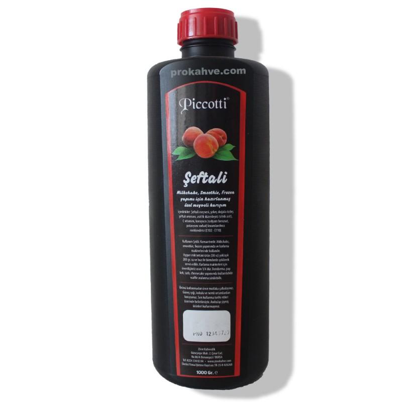 Piccotti Meyve Püresi Şeftali 1000 Gr