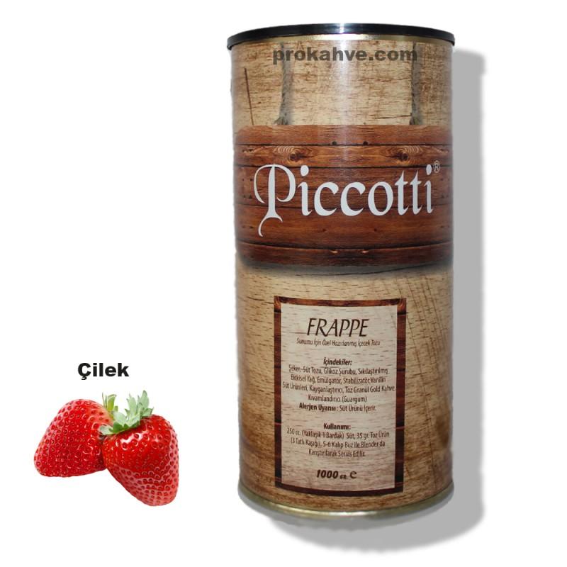 Piccotti Frappe Çilekli 1000 Gr Kutu