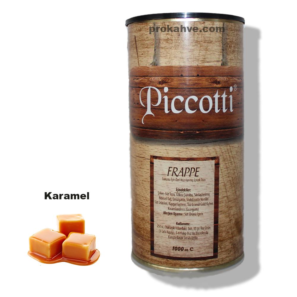 Piccotti Frappe Karamelli 1000 Gr Kutu