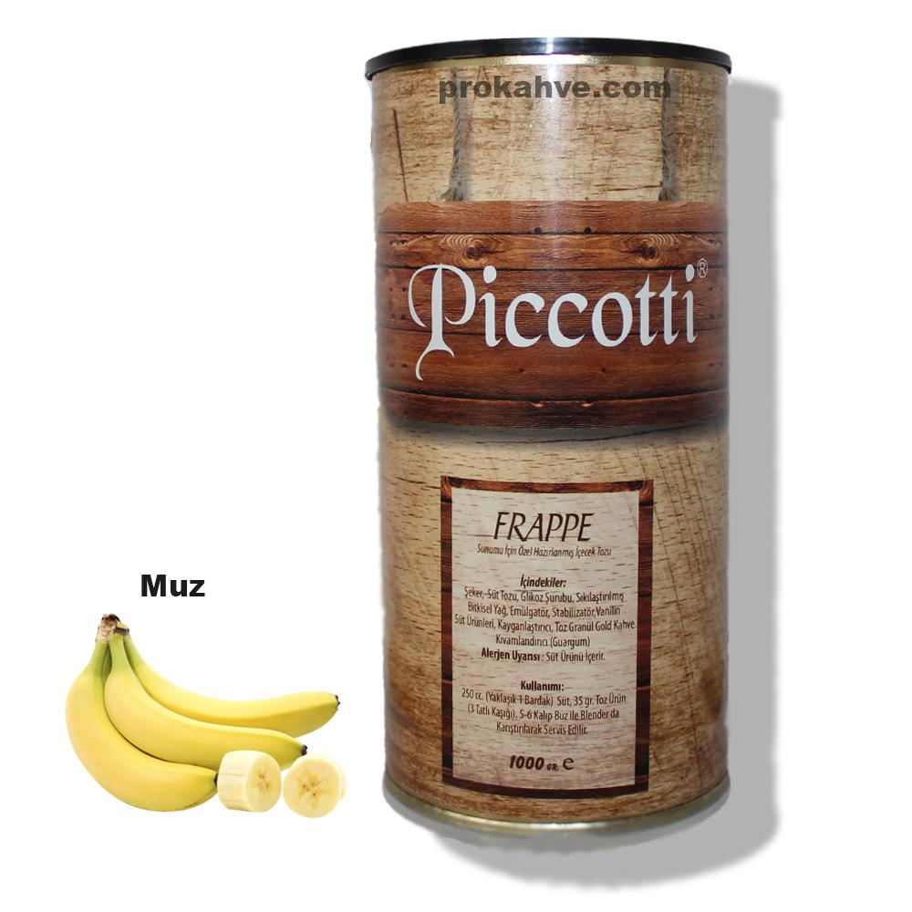 Piccotti Frappe Muzlu 1000 Gr Kutu