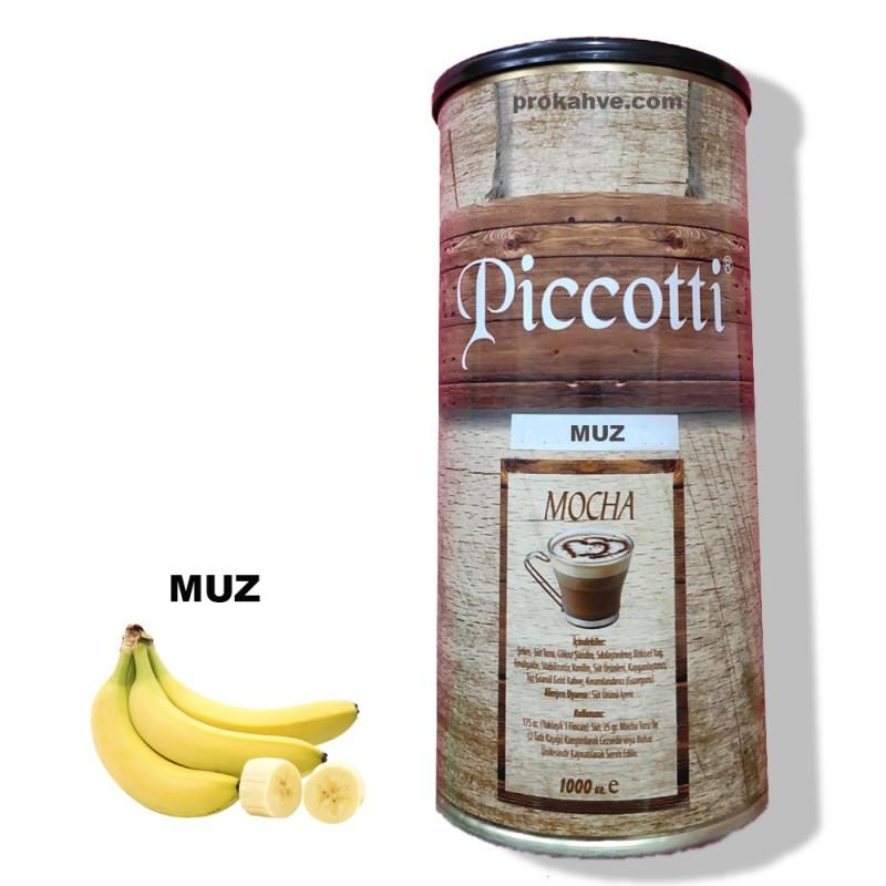 Piccotti Mocha Muzlu 1000 Gr Kutu