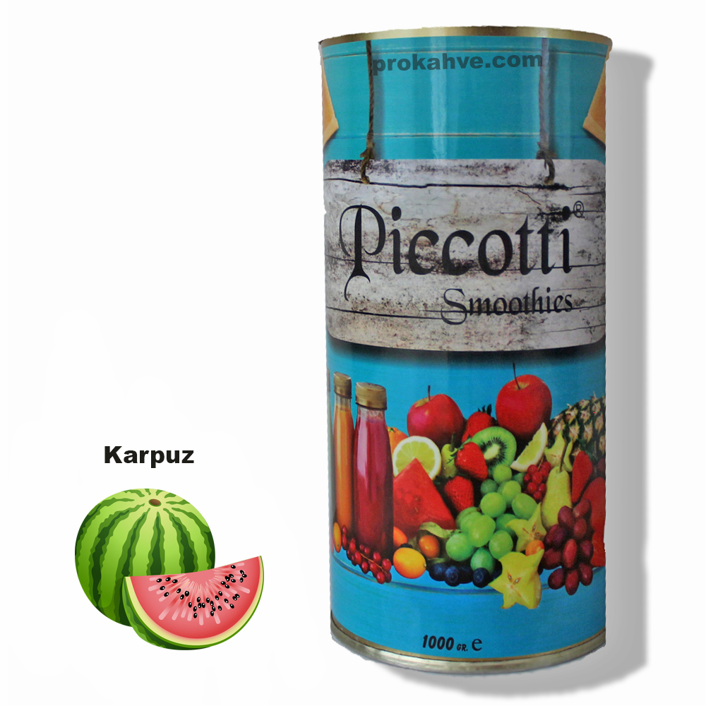 Piccotti Smoothies Karpuz 1000 Gr Kutu