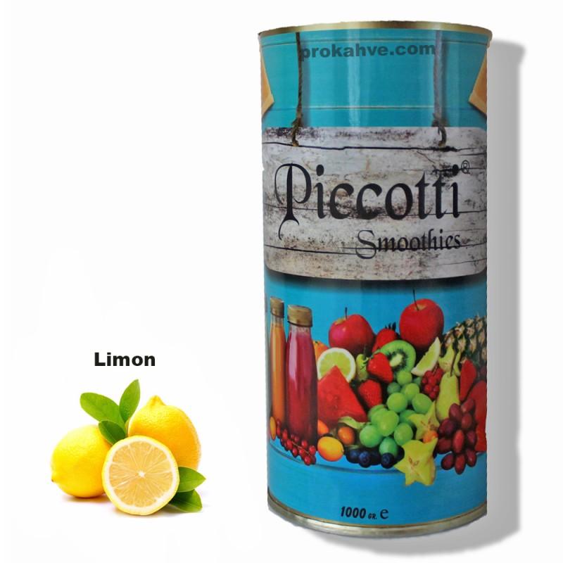 Piccotti Smoothies Limon 1000 Gr Kutu