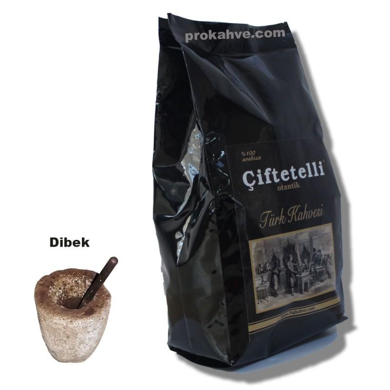 Çiftetelli Dibek Otantik Türk Kahvesi 500 GR Paket